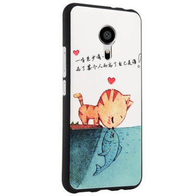 MEIZU PRO 5 case silicone 3D stereo relief Painting back case MEIZU PRO5 cover for MEIZU PRO 5 MX5 PRO mobile phone bags case Phone Cases For meizu