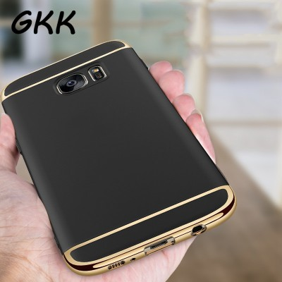 Luxury Electroplating Phone Cases For Samsung Galaxy S7 Edge S7 Case Full Coverage Case For Samsung Galaxy S7 edge Cover