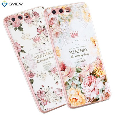 Huawei Honor 9 Case High Quality Soft TPU 3D Relief Painting Stereo Feeling Back Cover Case For Huawei Honor 9 Phone Case