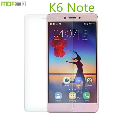 K6 Note glass Lenovo k6 note tempered glass 9H 2.5D arc HD glass K6 note screen protector protective glass accessories flim 5.5""