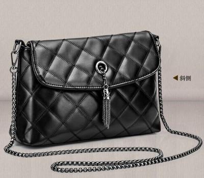 Sexy Bags Black Chains Bags Women Bag Commuter Handbags Sexy Tassel Versatile Women Messenger Bags