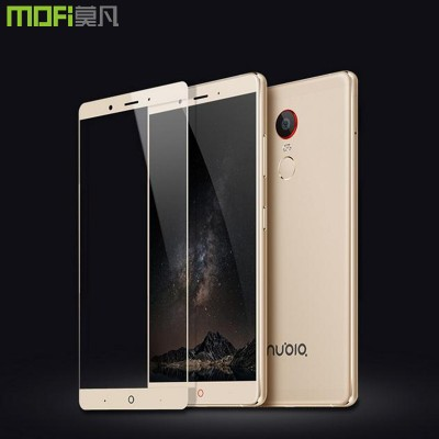nubia z11 max glass MOFi original zte nubia z11 max 6.0 inch tempered glass full cover screen protector white gold accessories