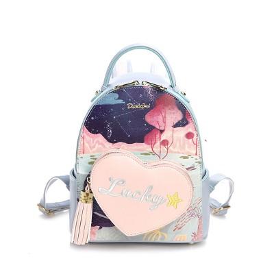 Fashion Brand PU Backpacks Small Mini Backpack Women School Bags For Teenagers Girls Leather Backpack
