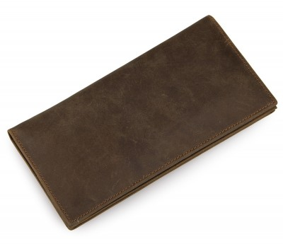 2017 Promotion Men Solid 100% Genuine Leather Bag Long Size Vintage Cowhide Purse Real Mens Wallet Man Multi-card Billfold