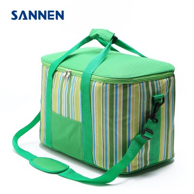 SANNEN 34L Big BBQ Picnic Storage Bags Oxford Portable Outdoors Cooler Box Lunch Shoulder Bags termica bolsa almuerzo Handbags