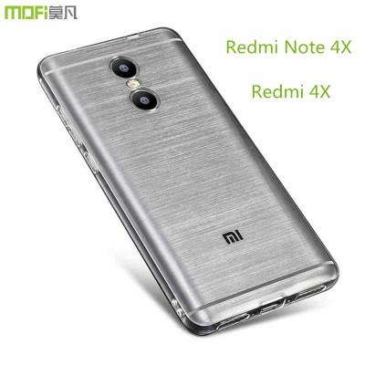 Redmi 4X case redmi note 4x case cover MOFi original xiaomi redmi 4x note 4x soft TPU back cover silicone clear protector capa