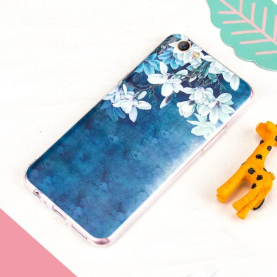 OPPO R9S case oppo r9s plus case MOFi original soft TPU back case oppo r9s cover cute cattern flower girl beautiful Bohemia city