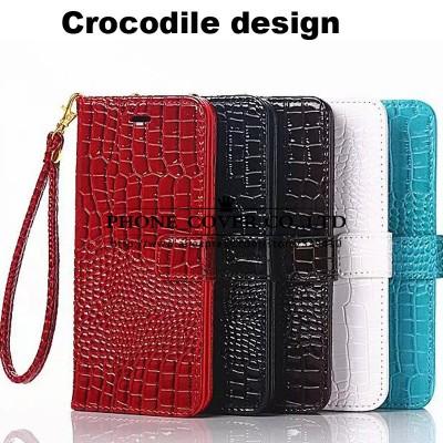 Crocodile design Snakeskin leather Cell Phone Case Cover for Samsung Galaxy A3 A5 A7 A8 E5 E7 J3 J5 J7 2016 Note 5 4 S7 edge C5