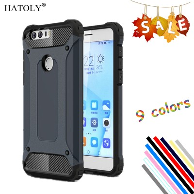 Phone Case Cover Huawei Honor 8 Case Silicon Rubber Armor Hard Phone Cover For Huawei Honor 8 Case For Huawei Honor 8 2016 Bag