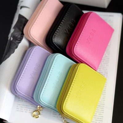 Fashion Small Wallet Women Short Luxury Brand Cute Female Purse PU Leather Girls Lady Zipper Wallets Card Holder Bags N320