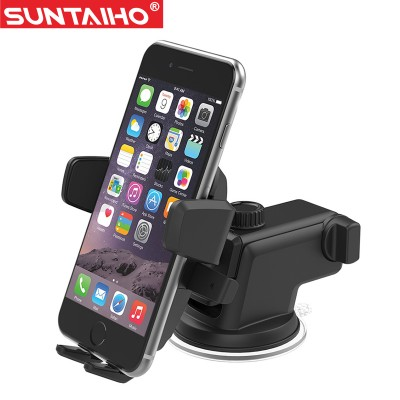 Mobile Cell Phone Holder for Car Suntaiho Car Phone Holder Suction Windshield Mount Stand 360 Adjustable Phone Holder For iPhone Samsung GPS Suporte Movil Car