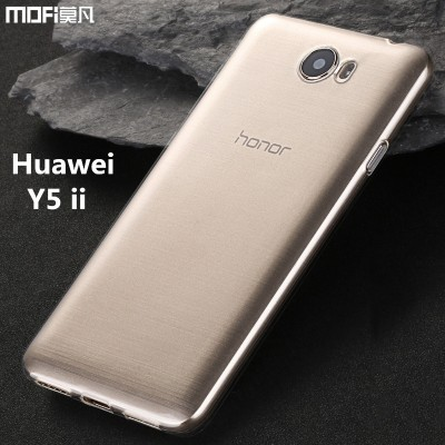 Huawei Y5 ii case cover huawei y5ii cover MOFi original TPU soft back case silicon clear huawei honor y5 ll Y5 2case capa coque Phone Cases For huawei