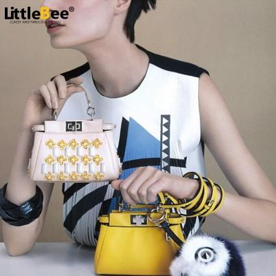 Bag Ladies New Style women messenger  Bags 2017 Mini Peekaboo Bags Handbags Women Famous Brands High Quality Women shoulder Bag