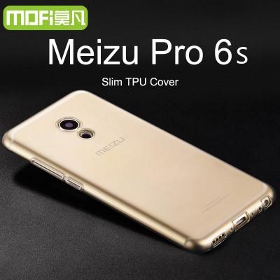 """Meizu pro 6s case Meizu pro 6 case tpu soft cover meizu pro6 pro6s transparent case mofi original silicone back case clear 5.2"""""""