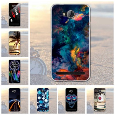 Huawei Y3 II Y3 2 Painting Soft TPU Back Silicone Case For Huawei Y3II Phone Case Y3 2/Y3II-U22/ LUA-U22/Lua-L21