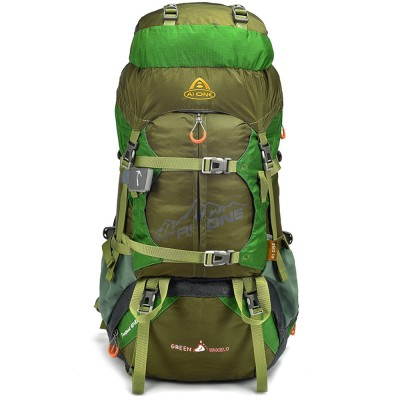 lightweight hiking backpack 50L External Frame Climbing Bags, CR Air Frame 600D Nylon Hiking Travel Outdoor Backpack waterproof hiking backpack