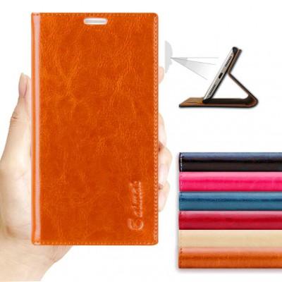 For Samsung Galaxy C7 C7000 Original Aimak Genuine Leather Phone Case For Samsung Galaxy C7 C7000 Flip Wallet Mobile phone Bag