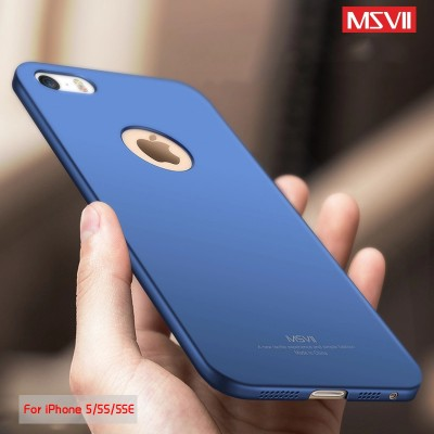 MSVII Case For Apple iPhone 5S Case iPhone SE Case Cover Luxury Full Protection Frosted PC Hard Protective Cover For iPhone 5
