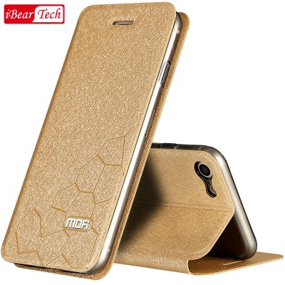 MOFI Case for iPhone 7 cover iPhone 7 case plus 6 6s Plus silicon funda leather flip accessory coque for iphone 7 plus case luxury