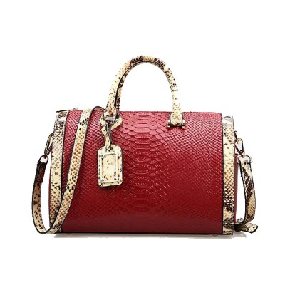 Real 100% Genuine Leather Bags For Women Crocodile Snake Skin Designer Brand Handbag High Quality Ladies Messenger Shoulder Bags