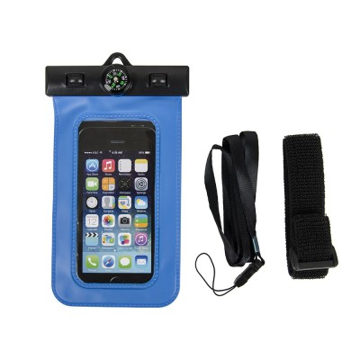 Universal Portable PVC Waterproof Compass Phone Bag Cell Phone Pouch For iPhone 7 6S SE 6Plus For Samsung S7 Xiaomi For Huawei