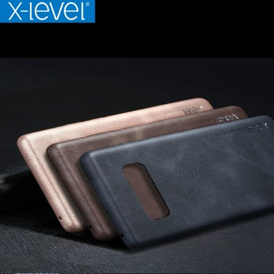 For Samsung Galaxy Note 8 Case X-Level Luxury Vintage PU Leather Case For Samsung Note8 Back Cover Case For Galaxy Note 8