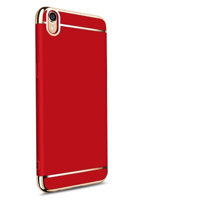 OPPO f1 plus case cover luxury pink red MOFi originl oppo f1 plus case back cover 3 in 1 capa coque funda accessories 5.5""