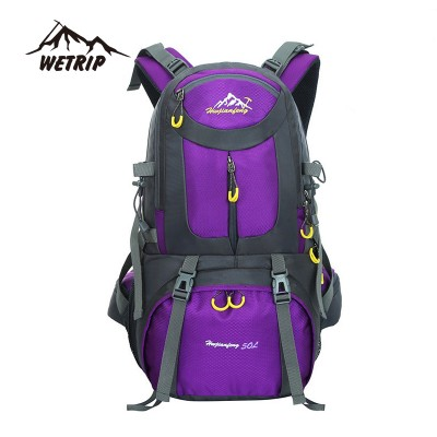 lightweight hiking backpack Outdoor Backpack sports bag 50L Travel Backpack Hiking Cycling Bag Climbing waterproof hiking backpack