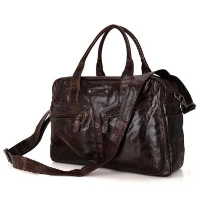 2017 Bags Designer High Class Genuine Leather Travel Bag Men Duffel Luggage Carry On Handbag Large Tote Shoulder Weekend Big