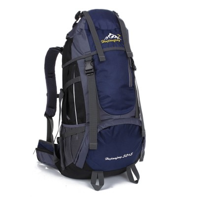 Large Hiking Backpacks 55L Outdoor Bags Men Women Travel Bags mochila senderismo sac etanche Hiking Climbing Bag Big Sports Bag