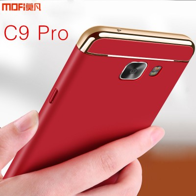 MOFI Phone Case For Samsung C9 Pro case cover for samsung galaxy c9 pro cover case luxury back hard three parts capa 6.0 for SM-C9000 galaxy c9