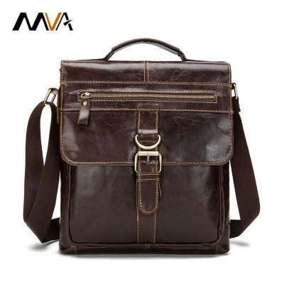 Casual Men Bags Genuien Leather Handbags Business Briefcase Handbag Crossbody Bag Messenger Bag Men Leather Men's Travel Bags