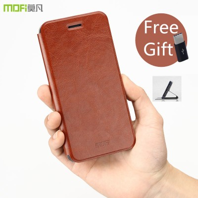 MOFi Case for Xiaomi mi6 flip case xiaomi 6 case MOFi original PU leather full cover housing stand holder capa coque funda mi 6 case M6