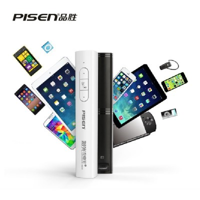 PISEN Brand 2500mah Power Bank  2.4GHz Wireless Laser Pen With Remote Control Laser Pointer Presenter PPT Pen Nano For Windows