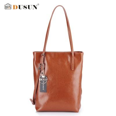 DUSUN Genuine Leather Handbags Women Bag Retro Shoulder Bag 2016 New Women's Large Tote Bags Ladies Casual Design Handbags AE-32704947397