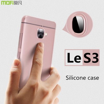 Le S3 case tpu case Letv LeEco Le S3 LEX622 case MOFi original le s3 cover soft transparent back cover silicone thin clear 5.5""