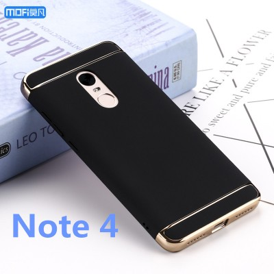 MOFi Case for Xiaomi redmi note 4 pro case MOFi original xiaomi redmi note 4 case cover pro prime hard back case accessories coque capa funda