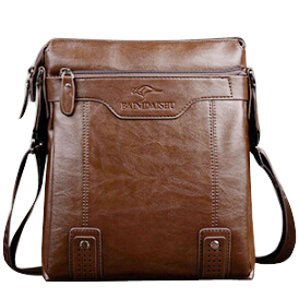 Fashion Genuine Leather Men's Messenger Bags Man Portfolio Office Bag Quality Travel Shoulder Handbag for Man DS02
