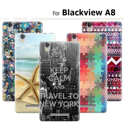 Blackview A8 Phone Case New Cute Paris Fashion Hard Plastic Phone Case For Blackview A8 Case Cover