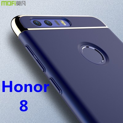 "Huawei honor 8 case MOFi original Huawei honor 8 cover back case hard luxury capa coque matte accessories navy blue 5.2"" Phone Cases For huawei"