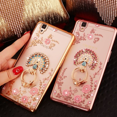 Luxury Rhinestone Phone Case For OPPO R9 R9s R7 R7S Plus A59 F1s A53 A51T A57 A39 A37 A35 F1 A33 A31T Diamond Phone Case