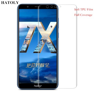 TPU Film for Huawei Honor 7X 3D Full Coverage Soft Screen Protector Film for Huawei Honor 7X TPU Film(Not Tempered Glass)