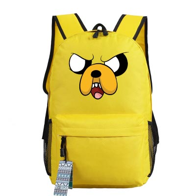 Cosplay Bag New Adventure Time cosplay Backpack Anime bags Student oxford Schoolbags AS Gift