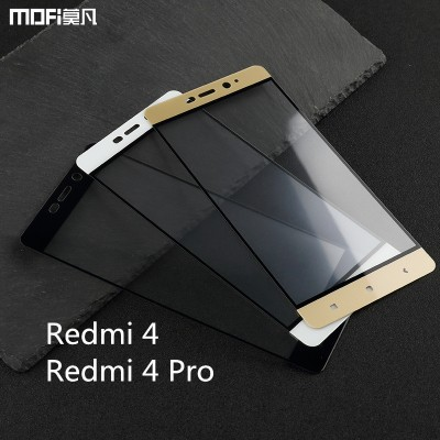 Xiaomi Redmi 4 pro glass xiaomi redmi 4 glass redmi 4 prime tempered glass MOFi original redmi 4 pro prime screen protector 5""
