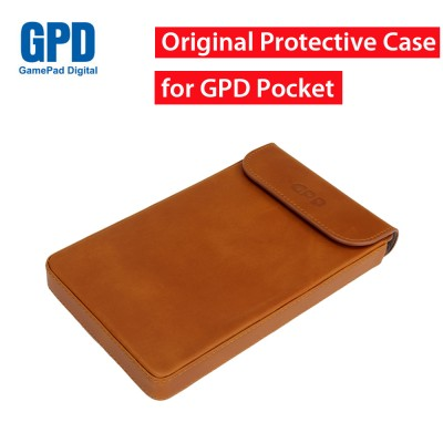 Original GPD Pocket Mini Laptop Protective Leather Case Bag for 7 Inch Windows 10 System UMPC Mini Laptop Cover Kit for GPD Pocket