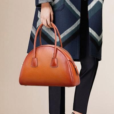 Luxury Fashion Retro 100% Genuine Leather Women Shell BagHandbag,Cowhide Shoulder bag Tote Bag~13B58