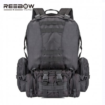 Hiking Backpack Outdoor Sports Travel Backpack Men Military Camping Hiking Rucksack with Detachable Sling Pack & Waist Pouch Best Hiking Bags online