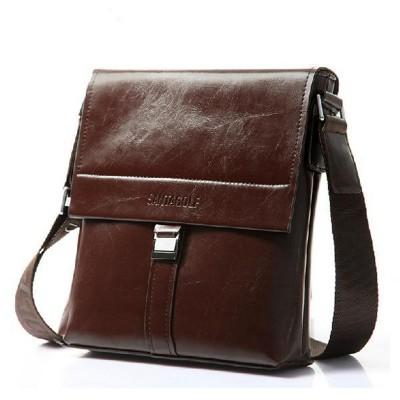 Fashion Business Briefcase Real Cowskin Men Messenger Bags Vintage shoulder cross-body bags genuine leather men bags