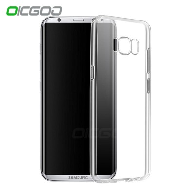 Silicone Transparent Case For Samsung Galaxy S7 Edge S6 Edge Clear Ultra Thin Soft TPU Cover For Samsung S8 S8 PLUS Case