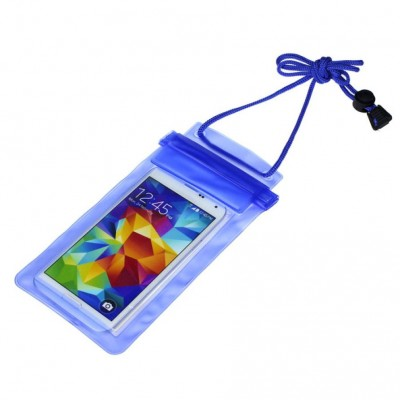 Unique Travel Swimming Waterproof Bag Pouch Cover for 5.5 inch Cell Phone iPhone Samsung HTC Sony LG 5.5""